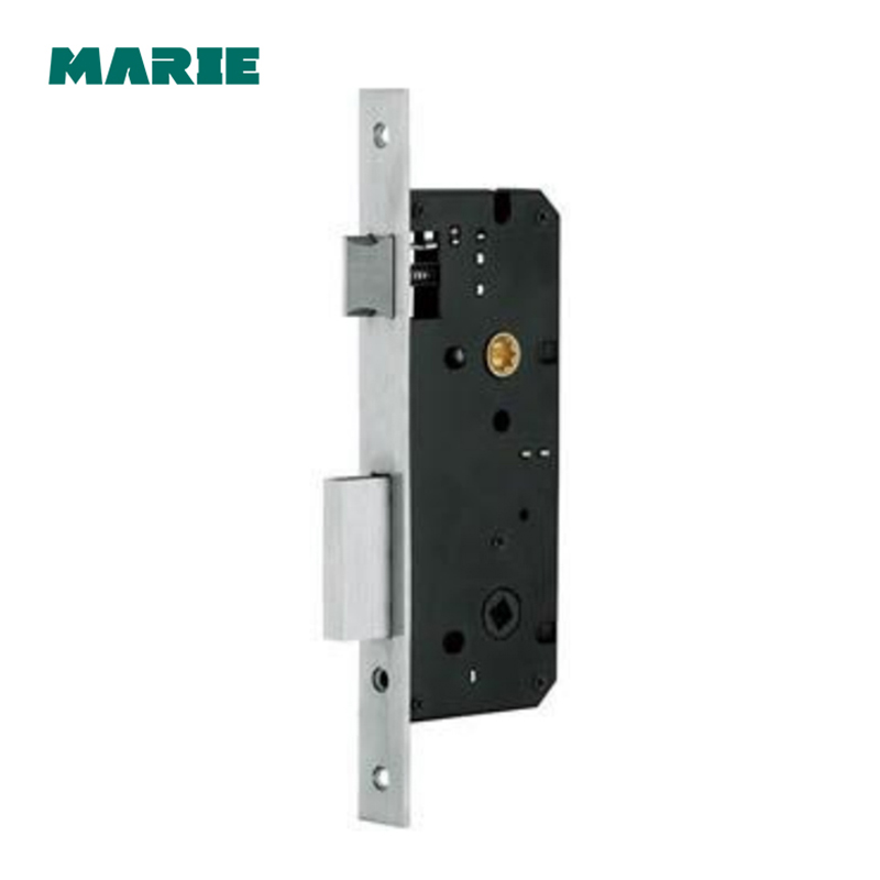 ML001 European Style Steel Single Point Mortise Lock Body Door Handle locking Door Hardware