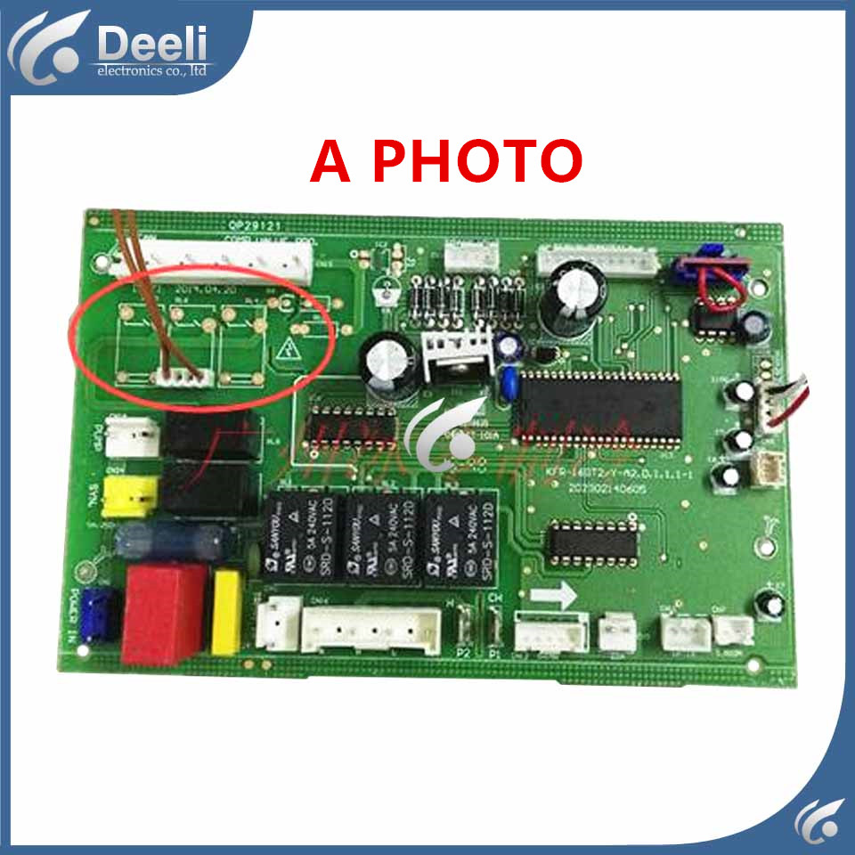 90% new used for air conditioning computer board KF-50T2/Y-A KFR-50T2/Y-A PC board pc board air conditioning accessories board 0010400526 used disassemble
