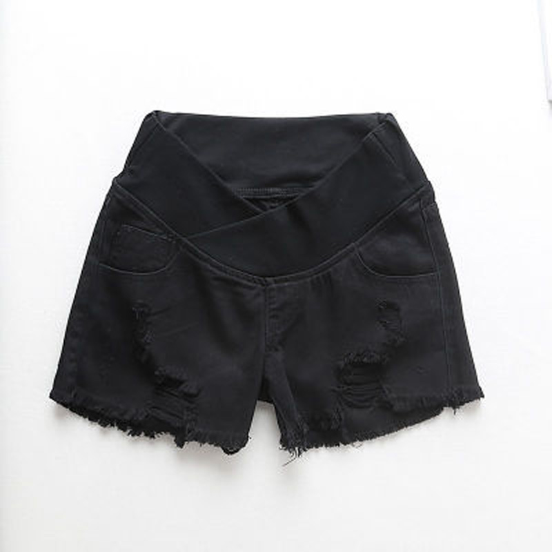 Pregnant-Women-s-Shorts-Summer-Wear-Low-waisted-Denim-Shorts-Summer-Wear-New-Spring-Loose-Pants (3)