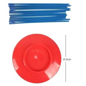 Image 3 - 6 conjuntos de plástico placa fiação balanceamento adereços desempenho ferramentas crianças praticando equilíbrio habilidades brinquedo casa jardim ao ar livre