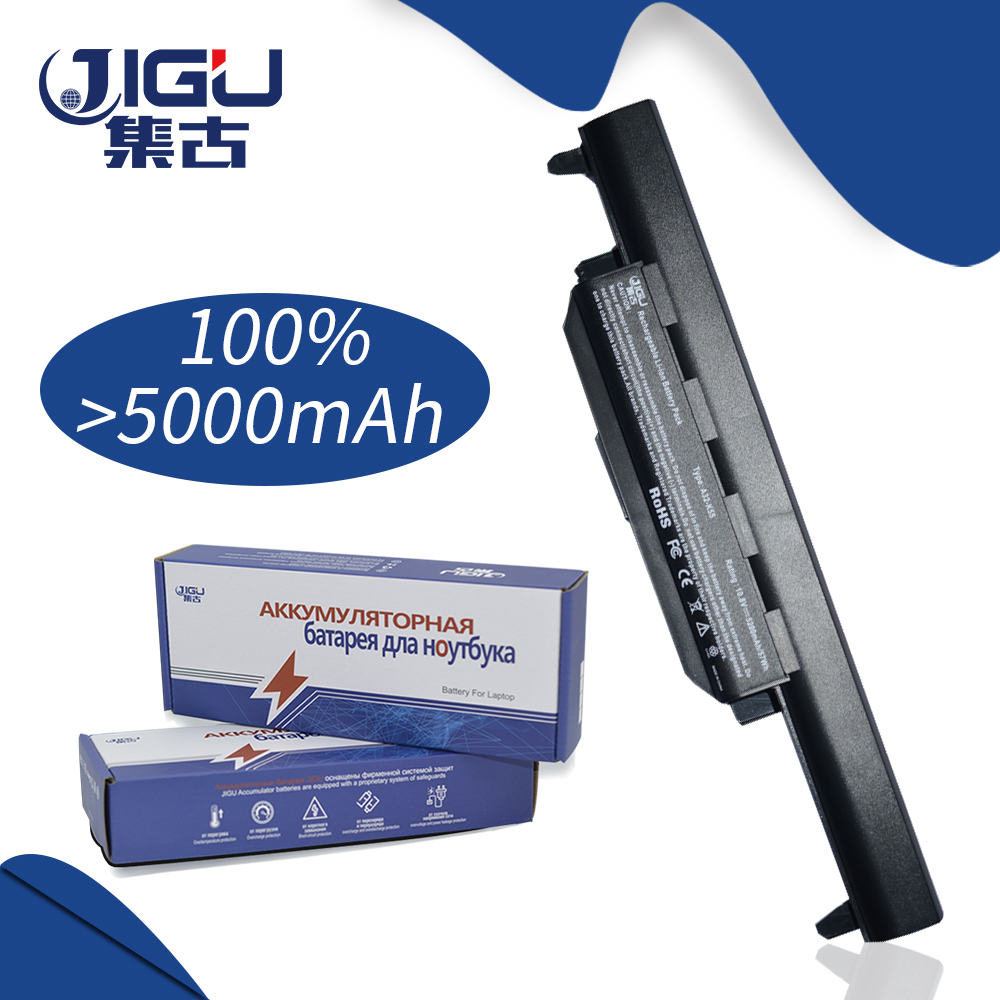 JIGU 5200MAH Laptop Battery For Asus R400VG R400VD R400DR K75VM K75VD K75DE K55VS K55VM K55VD K55DR R400D R400V K75V K75D K75A
