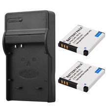 2 x 1000mah NB-8L NB8L NB 8L Battery +Charger For Canon PowerShot A3300 A3200 A3100 A3000 A2200 A1200 IS Replacement Bateria(China)