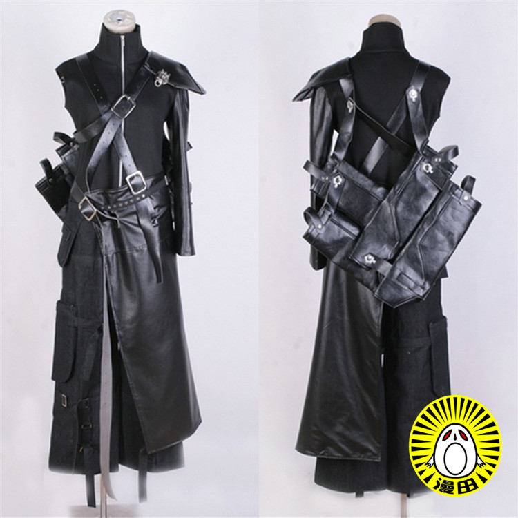 Final Fantasy Vii Cloud Strife Men/'s Suit Cosplay Equipped Costume