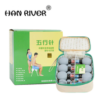 Hearts five lines of 18's needle vacuum cupping Household vacuum cupping care magnets acupuncture weight loss