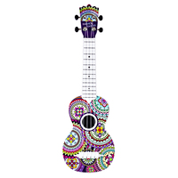Rowsfire 21 Inches Children Guitar Type Ukulele Learning For Early Educational Musical Instruments Toys Wholesale