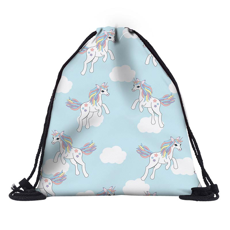 Newest Drawstring Bag SchoolBag Camo Drawstring Backpack For Teenage Men Waterproof Drawstring Bag Packing Cubes Large