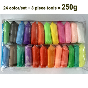 Image 3 - 36 색 라이트 소프트 클레이 DIY 완구 어린이 교육 에어 드라이 폴리머 Plasticine 안전 다채로운 라이트 클레이 장난감 아이들에게 선물
