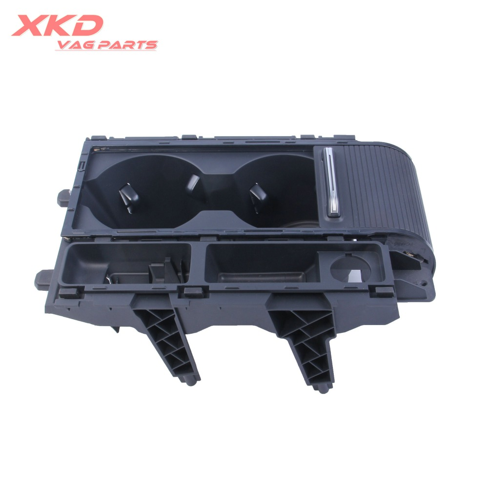 Center Console Cup Holder Assembly With atmosphere lights Fit For VW Passat B8 15 17 3G0