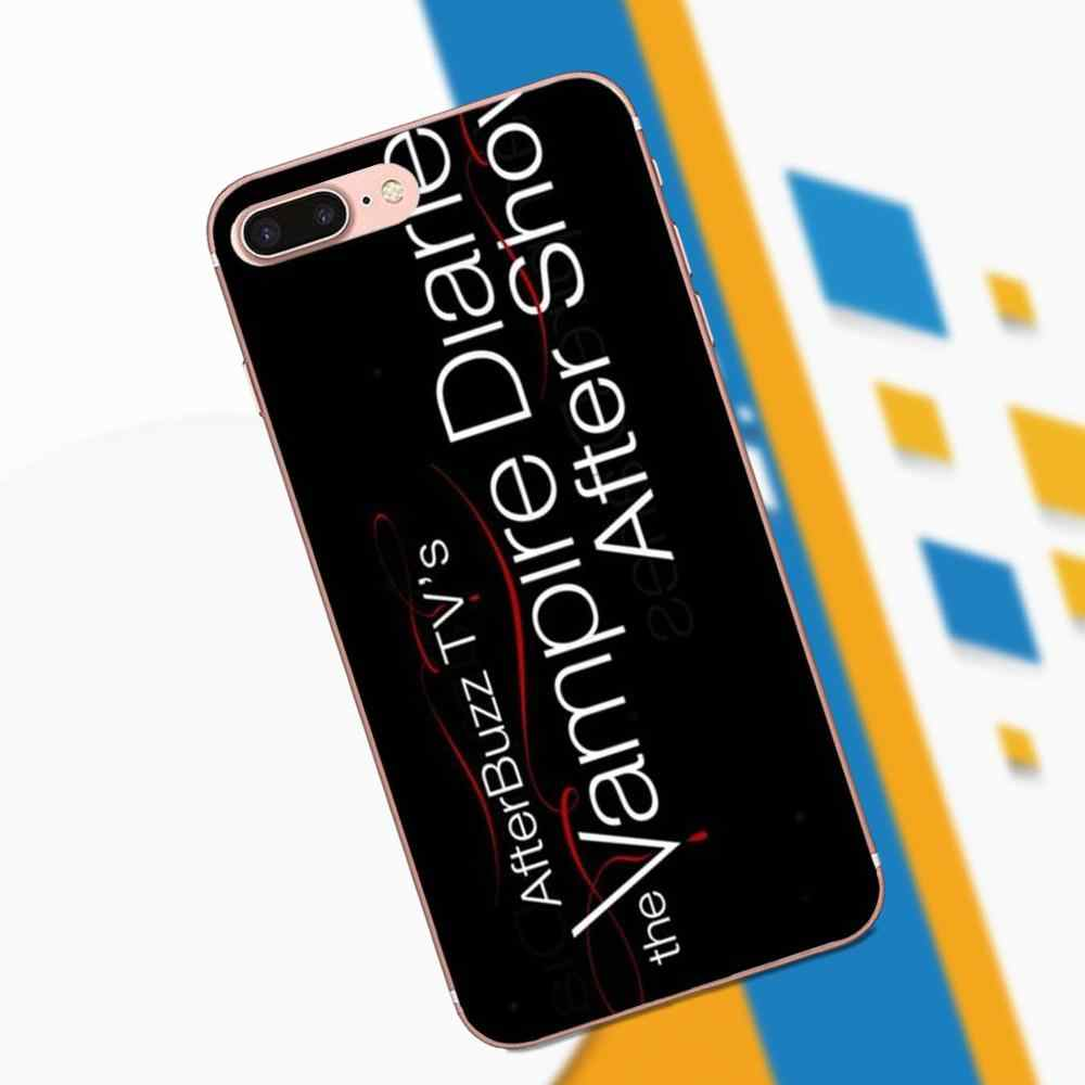 Мягкие чехлы для мобильных телефонов с надписью вампира Дневники слово для samsung Galaxy Note 2, 3, 4, 5, 8 9 S3 S4 S5 S6 S7 S8 S9 mini Edge Plus