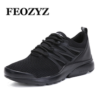 FEOZYZ Trendy Mens Sneakers Ultra Light Running Shoes Breathable Comfortable Walking Shoes Jogging Shoes Zapatillas Hombre
