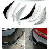 2PCS Car Bumper Strips Crash Bar Hard PVC Sticker For Toyota Corolla Rumion Corolla Runx FJ