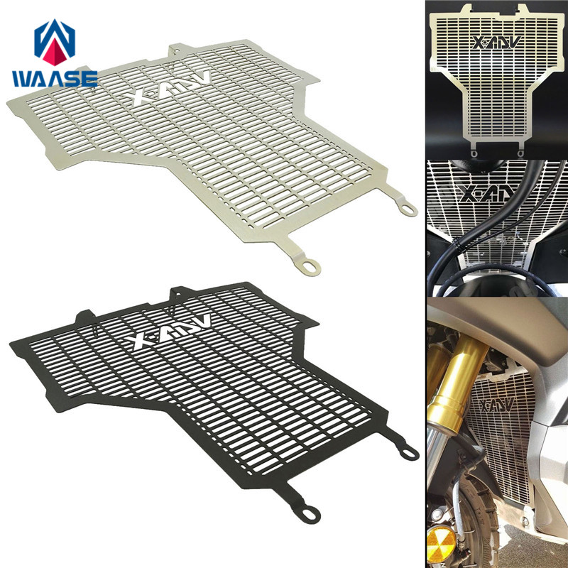 waase XADV Motorcycle Radiator Protective Cover Grill Guard Grille Protector For Honda X-ADV 750 2017 2018 for honda cb400 vtec 1999 2012 radiator grille guard cover protector
