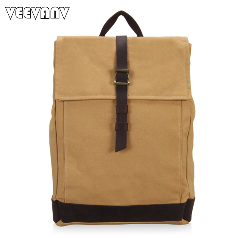 2018 Mens Backpacks Travel Large Capacity Canvas Backpacks Laptop School Shoulder Bags F ...