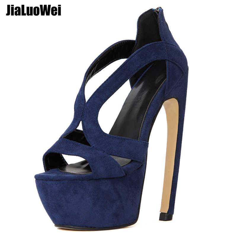 7144a9a161e jialuowei 2018 New Women Gladiator Sandals 7
