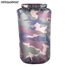 6L Waterproof Camouflage Dry Floating Drift fishing Rafting Camping Hiking Swimming River Trekking Bucket Bag New Arrival
