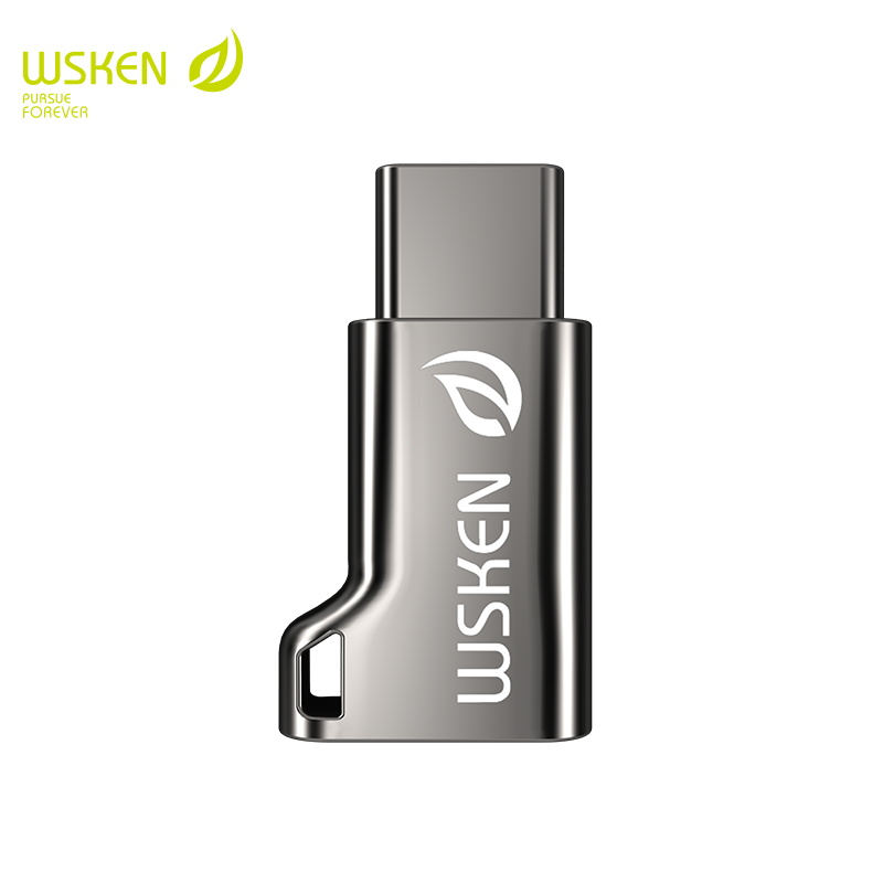Wsken Micro USB  To Type C Adapter For USB C Converter Type-C Conneter Phone For Samsung Xiaomi Note 10 S10 Plus 9 8