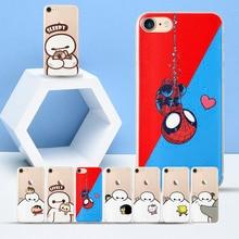 Funny Doraemo Covers Case for Coque iPhone 6S case BayMax for iPhone 6S BayMax TPU Cases for Fundas iPhone 6 Plus 6S Plus kykeo красный iphone 6s plus