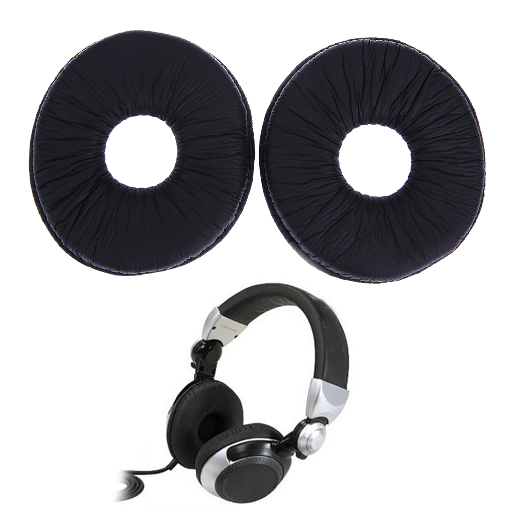 1 pair Replacement Ear Pads Cushion for Technics RP DJ1200 DJ1210 Headphones headset Black EarPads ear pads soft leather replacement cushion for monster for beats by dr dre studio 2 0 wireless headphones 1 pair earpads