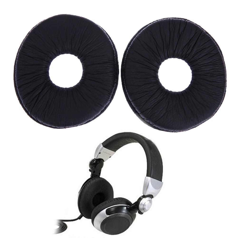 1 Pair Replacement Ear Pads Cushion For Technics RP DJ1200 DJ1210 Headphones Headset Black EarPads