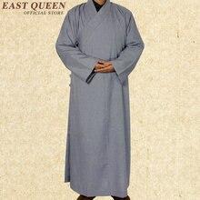 Одеяния буддийских монахов китайский шаолиньский монашеские одежды для мужчин традиционный буддийский монах одежда Форма одежда шаолиньских монахов AA971