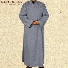 Túnicas monje budista china shaolin monk robes hombres tradicional budista monje ropa ropa monje shaolin uniforme AA971