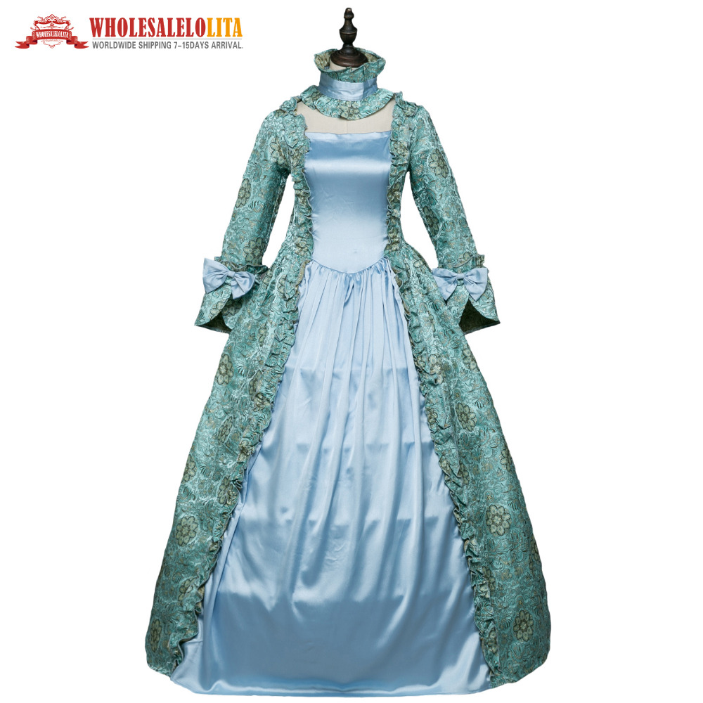 Gothic Period Medieval Dresses Gothic Masquerade Ball Gown Vampire ...