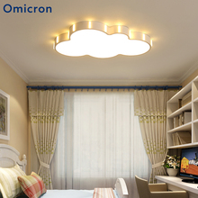 Omicron Modern Ceiling Lights Acrylic Creativity Cloud Childrens Lamp For Room Study Home Decor