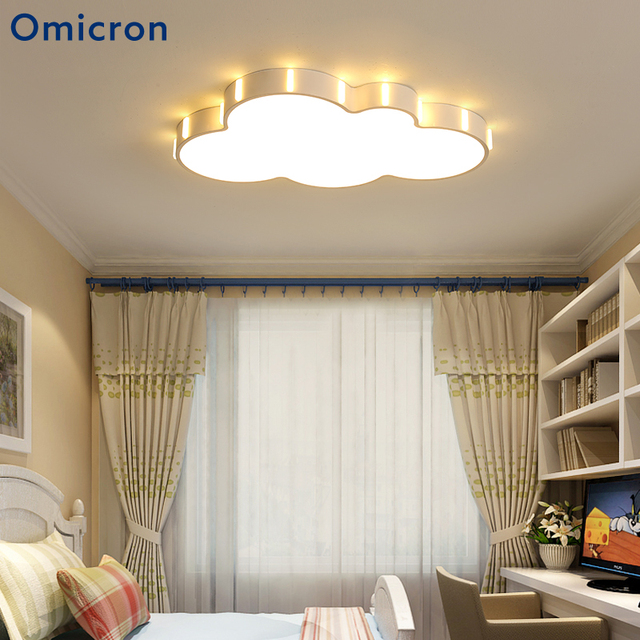 Omicron Modern Ceiling Lights Acrylic Creativity Cloud Children's Lamp For Children's Room Study Room Home Decor Ceiling Lamp