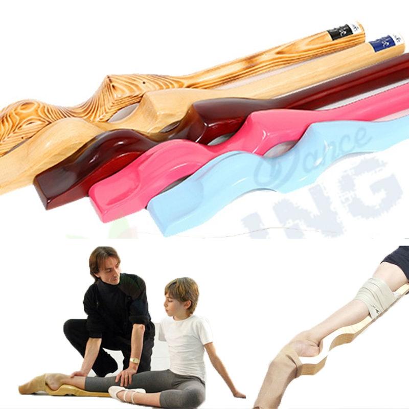 Arc rose pied civière professionnel ballet tutu pied stretch pour filles bois danse pied ballet accessoires danse pratique