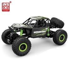 RC automašīna 4WD 2,4 GHz radio vadāmās rotaļlietas Rallija kāpšana lielapjoma automašīnā uz tālvadības pults modeļa bezceļu transportlīdzekļa bērnu rotaļlieta