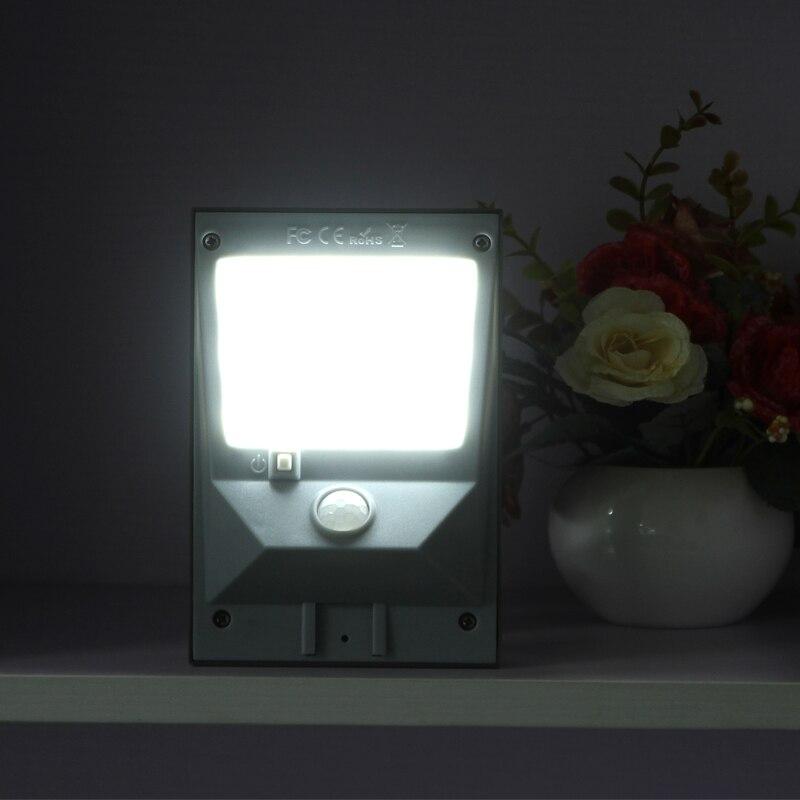 18 LED Solar Powered Motion Sensor Garden Security Lamp Outdoor Light 120  Degree Sensor US Drop Ship