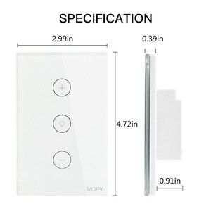 Image 5 - WiFi Smart Dimmer Light Switch APP Remote Control Works with Amazon Alexa and Google Home IFTTT Smart Home System