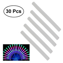 30pcs Multi Color LED Foam Glow Stick Fluorescent Light Sticks For Concert Party(China)