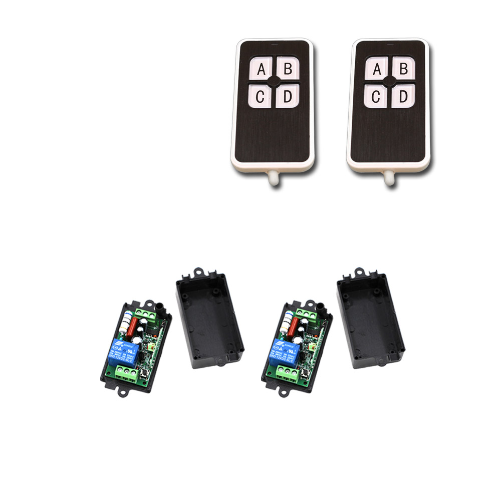 AC 110V 220V RF Remote Control Switch 1CH 1 CH 10A Relay Receiver Wireless Remote Control Switch Systerm 315Mhz/433Mhz ac 110v 220v wireless remote control switch 1ch 1 ch 10a relay receiver remote controller system 315mhz 433mhz