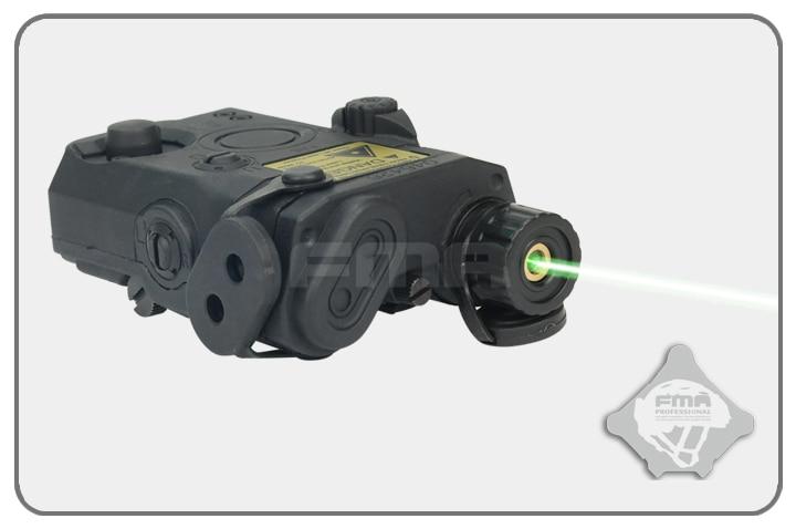 FMA AN/PEQ 15 Style Battery Case Box + Green Laser Tactical PEQ-15 Case Box tb547 tb548 tb549