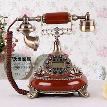 The new European antique telephone landline retro fashion wedding gifts classical