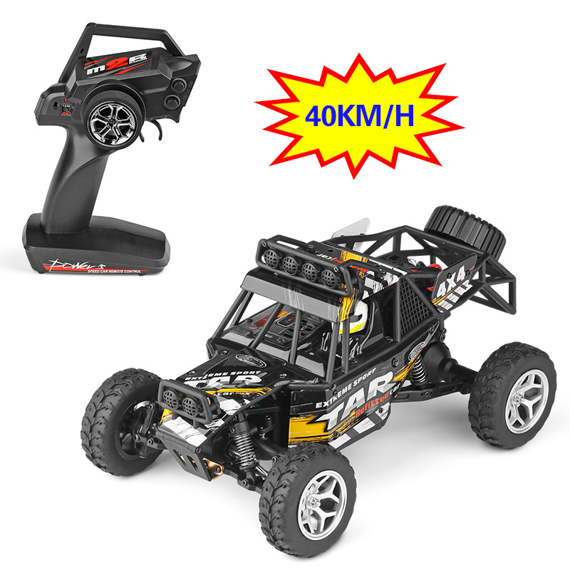 Original 1:18 RC Car Electric 4WD Desert SUV 2.4G Rock Rover Off-Road High Speed Big Foot Racing Car Toys for Kids Gift wltoys k979 super rc racing car 1 28 2 4ghz 4wd off road suv