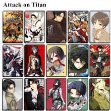 Attack On Titan Karte.Großhandel Attack On Titan Sticker Gallery Billig Kaufen Attack On