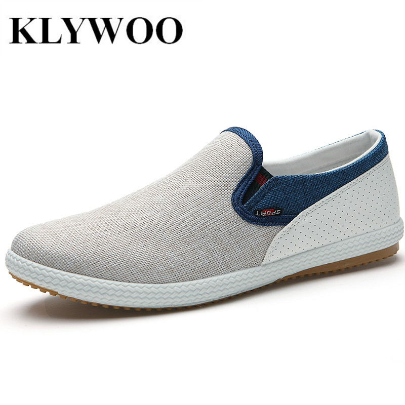 Hot New Men Shoes Spring Male Casual Shoes Fashion Canvas Shoes Loafers Foer Mens shoes Breathable Comfortable Slip-on Size39-44 шкаф купе мебелайн 3