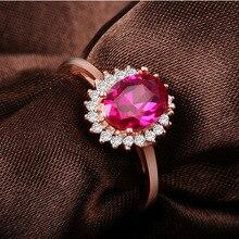 Обручение Кольцо овальным вырезом Принцесса Кейт же Стиль средний палец кольцо solitaire Подлинная кольцо стерлингового серебра 925 подарок для девочек