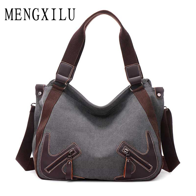 Fashion 2017 Canvas Bag Women Shoulder Bags Large Capacity Casual Tote Bag High Quality Women 39 S