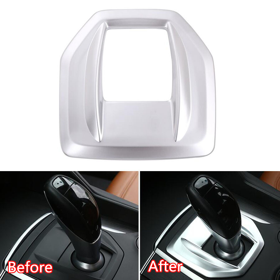Car Interior Gear Shift Box Panel Frame Cover Trim Styling