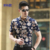 Novo Estilo Chinês Flor Mens Camisa 2017 Quente do Sexo Masculino de Verão Camisa Floral de Manga curta Plus Size Casuais Camisas De Algodão Mercerizado homens