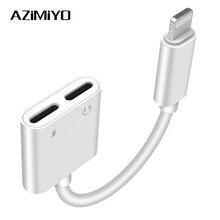 AZiMiYO headphone adapter splitter compatible for iPhone 7 8