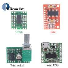 PAM8403 module digital power amplifier board miniature class D power amplifier board 2 * 3 w high 2.5 ~ 5 v USB DIY