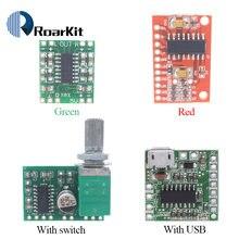 Pam8403 módulo placa amplificador de potência digital miniatura classe d placa amplificador de potência 2*3 w alta 2.5 5 5 v usb diy