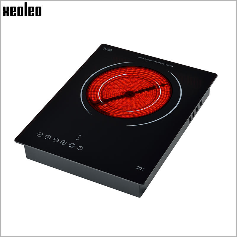 Xeoleo Electric ceramic heaters 2000W Embedded Electric Hob No Radiation Ceramic cooker Light wave cooker 220V