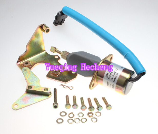 5.9L SA-4026-12 DIESEL FUEL SHUT OFF SOLENOID 2-1/2 bolt spacing 1751ES RQV-K Free Shipping5.9L SA-4026-12 DIESEL FUEL SHUT OFF SOLENOID 2-1/2 bolt spacing 1751ES RQV-K Free Shipping
