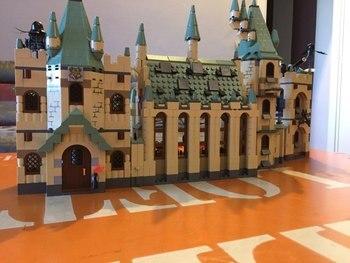 Le Poudlard château Ensemble 16030 1340 Pcs Des Films Créatifs Série Modèle Building Block Enfants Jouet Cadeau 4842