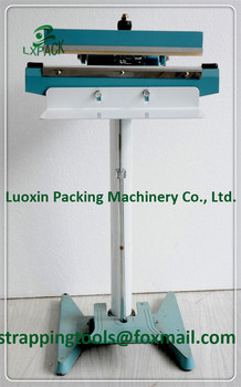 LX-PACK Foot Pedal Impulse Sealer Hacking Heat Seal Machinery Plastic Bag package shrinking Sealing equipment spare parts 350mm
